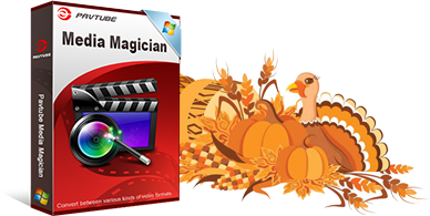 b Media Magician Pavtube Thanksgiving Sales 2016: 50% OFF BD/DVD/Video Tool