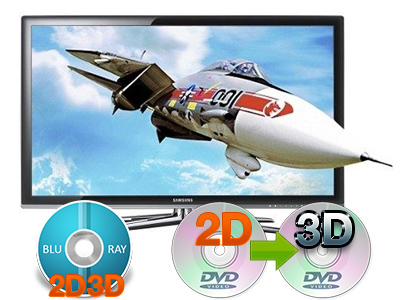 2d to 3d movie conversion software for mac