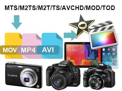 MTS/M2TS/M2T/TS/AVCHD/MOD/TOD Converter