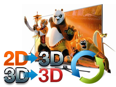 Experience amazing 3D effect