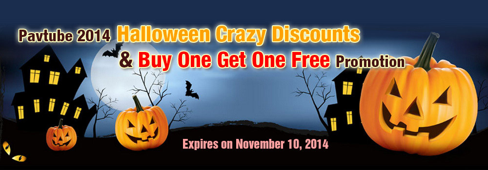 Pavtube 2014 Halloween Giveaway and Crazy Discounts
