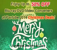 Pavtube 2014 Crazy Discounts