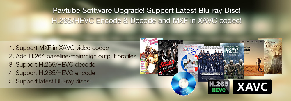 Pavtube Software Upgrade