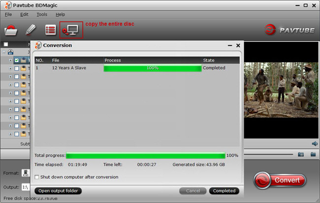 copy entire disc with pavtube bdmagic