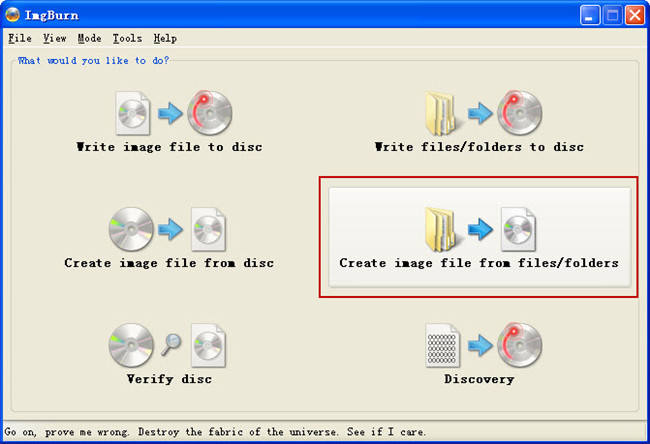 create free bd iso image from bdmv folder