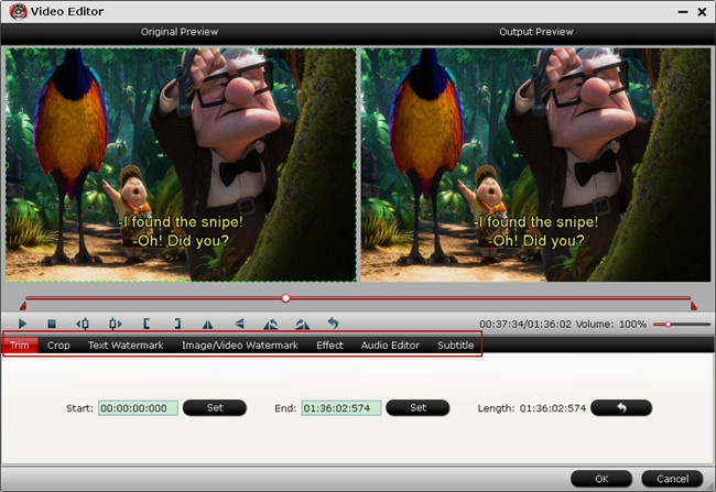 Trim/Crop/Adjust AVI output video aspect ratio