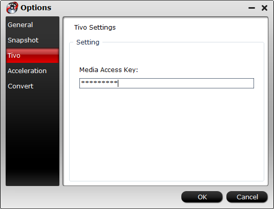 Add Tivo media access key