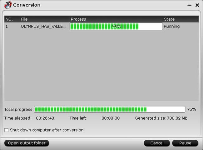 video converter ultimate conversion ui Best Settings for Solving Phantom 4 4K to Youtube Uploading Issues