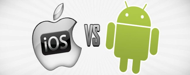 Android 4.5 VS iOS 8