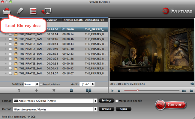 blu-ray to prores converter