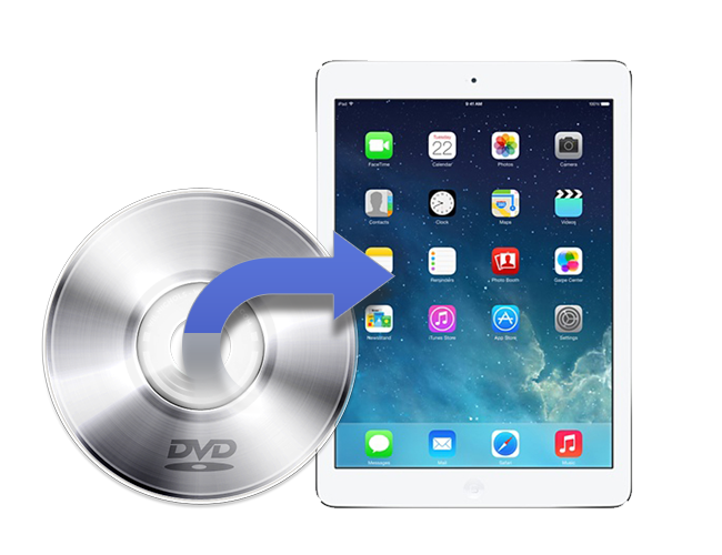 enjoy DVD on iPad Air iPad Air 2
