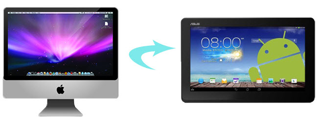 mac to android tablet