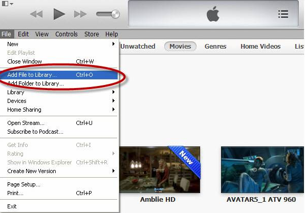 add videos from mac to itunes