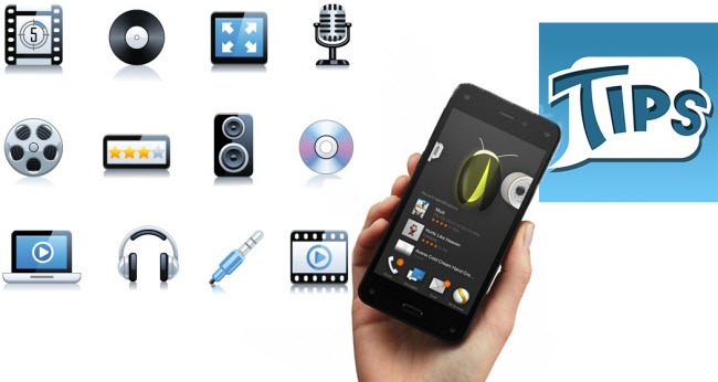 Amazon Fire Phone Supported File Formats & Useful Tips