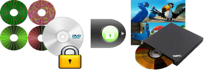 backup dvd with arccos bad sectors