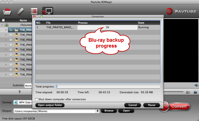 blu-ray backup without compression