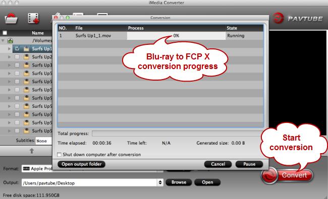 convert blu-ray to fcp x