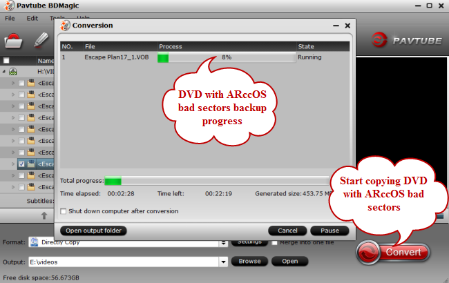 copy dvd with bad sectors