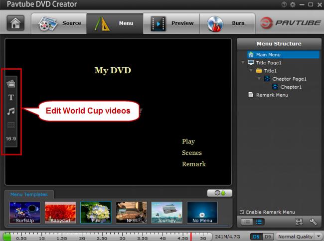 editing world cup videos
