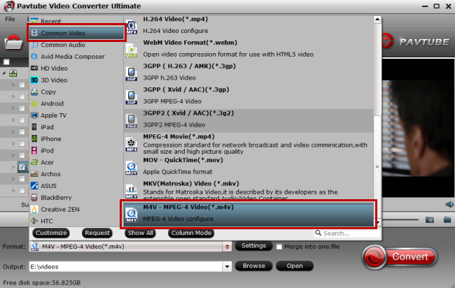 flv video to itunes compatible format