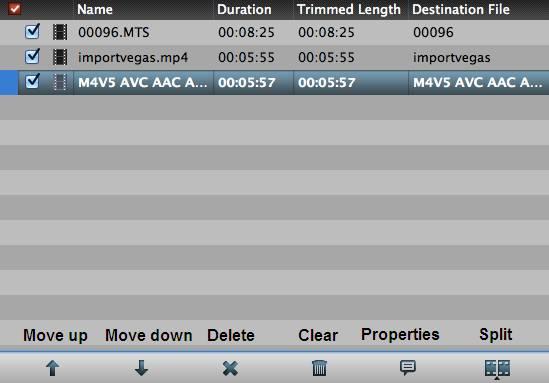 hd video converter mac file list