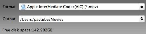 hd video converter mac status bar