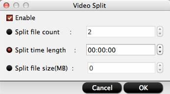 hd video converter mac video split