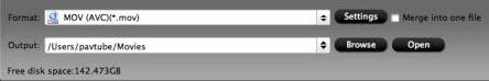 imixmxf output folder