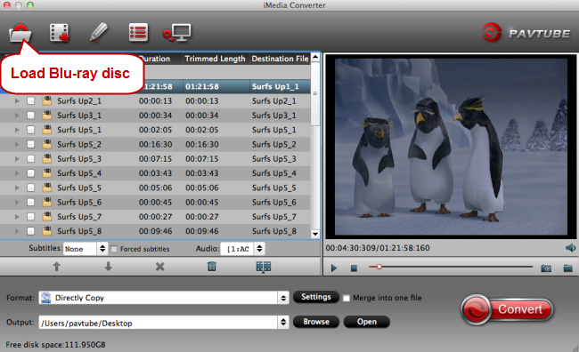 load blu-ray disc to fcp x