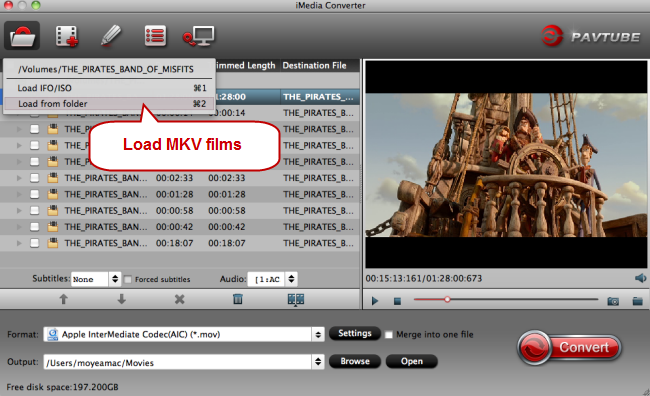 load mkv films on mac Import AVI Videos to iTunes [Easy, Quick] on macOS Sierra