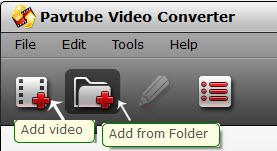 video converter add video folder