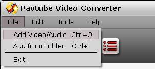 video converter add file