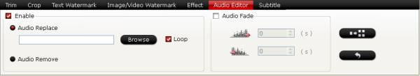 video converter audio editor