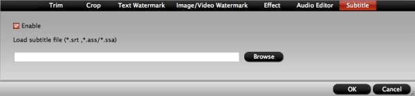 video converter mac subtitle