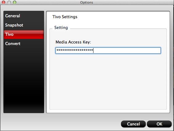 video converter mac tivo