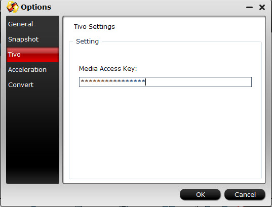 video converter tivo settings