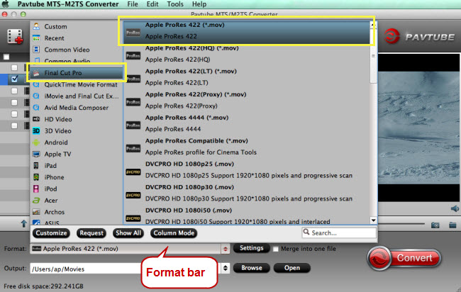 choose fcp 6 7 x supported format apple prores