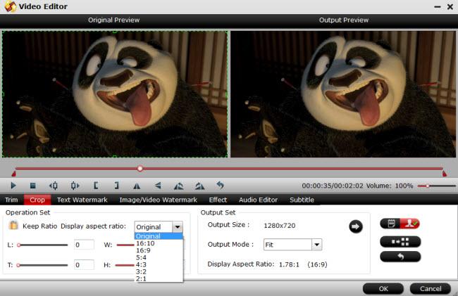 edit mp4 mkv mxf avi mts flv videos