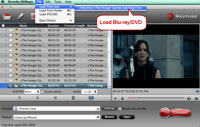 load blu ray dvd to xbmc converter