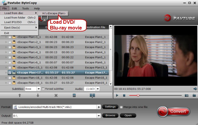 load dvd blu ray movie for storage on pc Rip Blu ray to Plex server with multi track MKV or H.264 MP4 Format