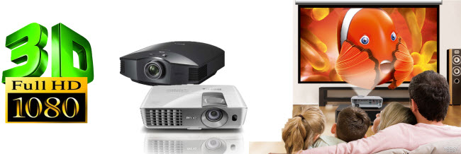 Top 10 3D Projectors Reviewed - Compatible with 1080P 3D Movies