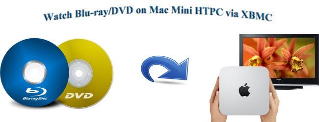 watch blu-ray dvd on mac mini htpc with xbmc
