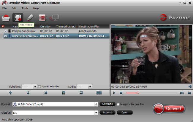 add vlc videos to video covnerter ultimate