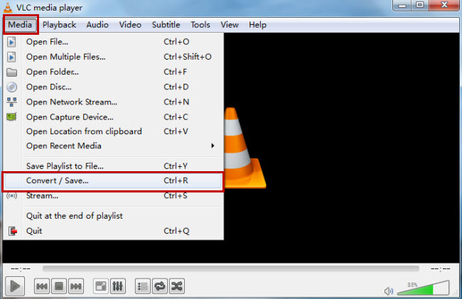 Convert AVCHD Files with VLC