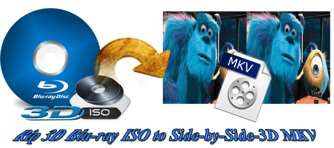convert 3d blu-ray iso to 3d sbs mkv