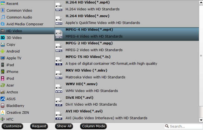 convert blu-ray to mpeg-4 mp4