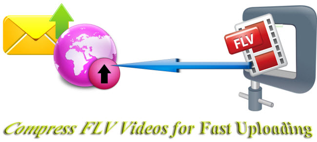 flv comression compress flv videos for fast uploading