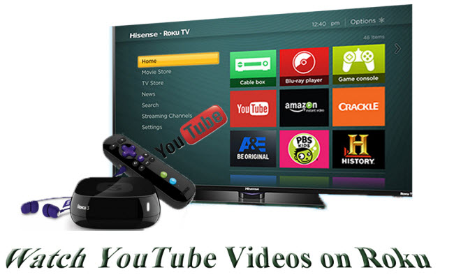 how to watch youtube videos on roku