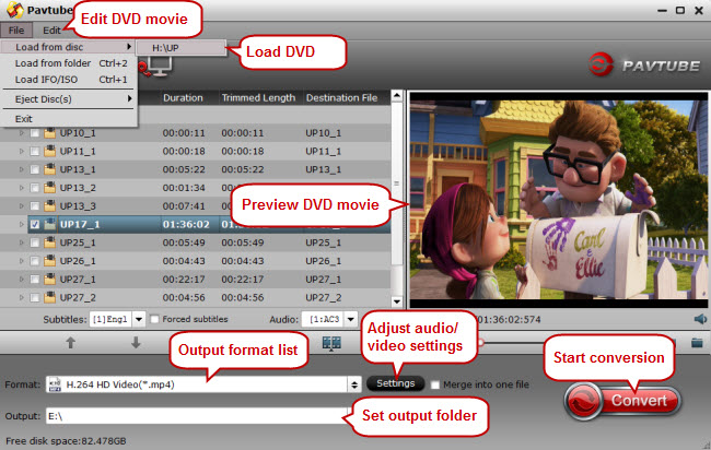 Import DVD to DVD Converter