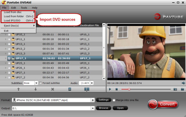 import dvd to dvd to-iphone 6 converter